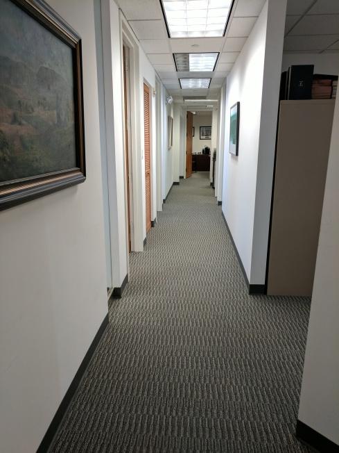K and M hallway